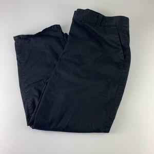 Ann Taylor sz 10 Black Cropped Pants Chinos